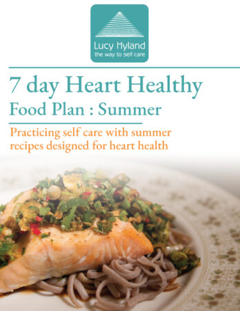 Heart healthy meal plan summer