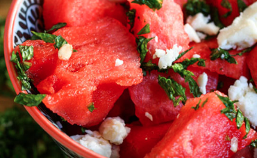 Feta and Watermelon salad