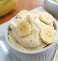 no added sugar banana icecream