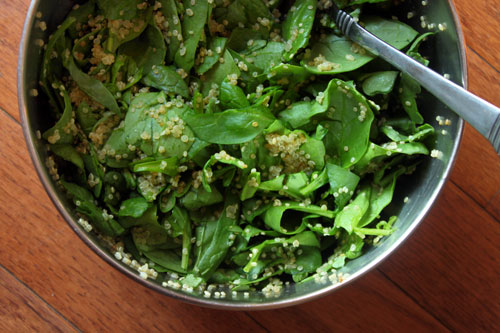 Spinach and Quinoa Salad