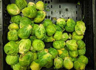 Chilli and garlic brussel sprouts