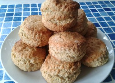 whole wheat brown scones